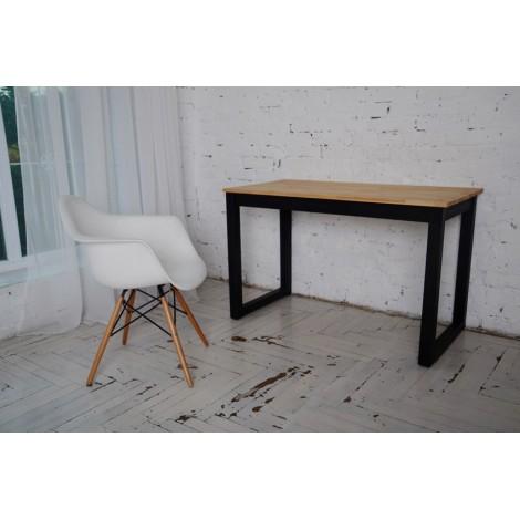 Дизайнерский компьютерный стол Тавол Тэста натуральное дерево 120смх60смх75см Натуральный