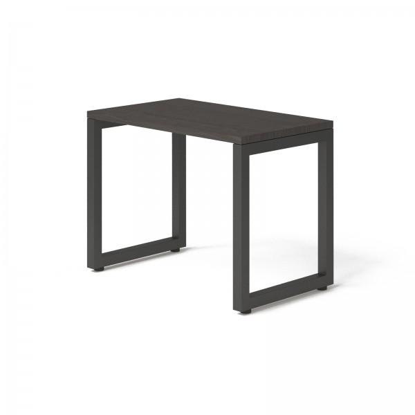 Стол Тавол КС 8.3 металл опоры черные 100смх60смх75см ДСП 32 мм Венге