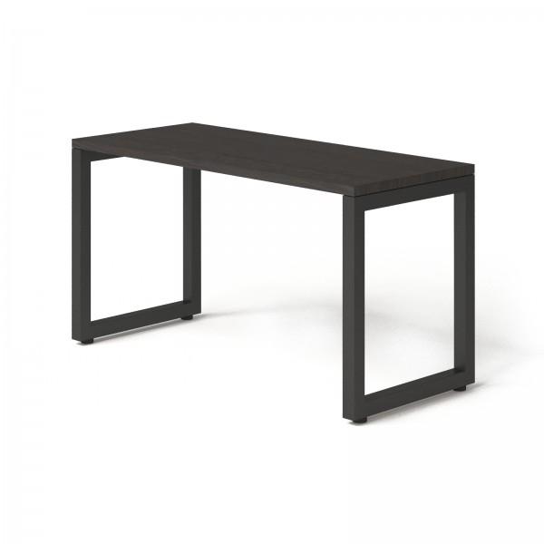 Стол Тавол КС 8.3 металл опоры черные 140смх60смх75см ДСП 32 мм Венге
