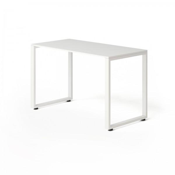 Стол Тавол КС 8.1 металл опоры 120смх60смх75см ДСП Белый