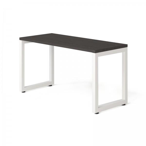 Стол Тавол КС 8.3 металл опоры белые 140смх60смх75см ДСП 32 мм Венге