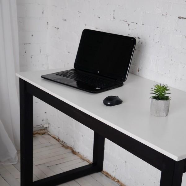 Дизайнерский офисный стол Тавол Тэста 120смх60смх75см Белый