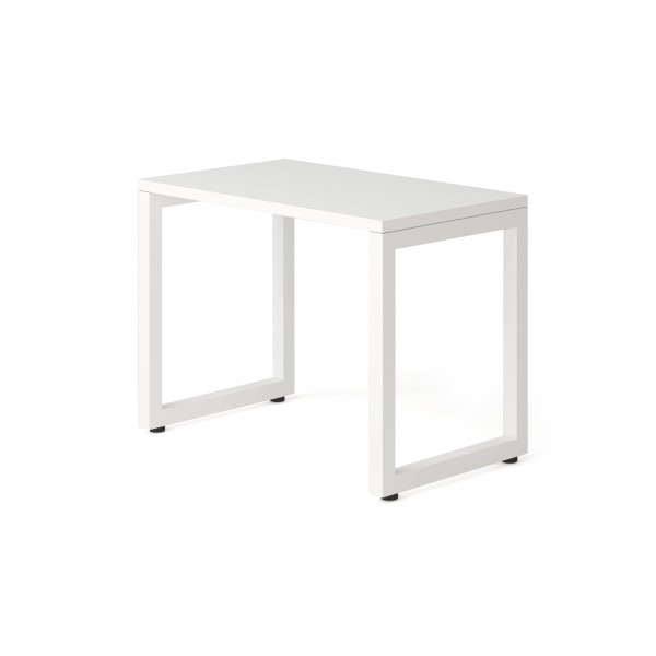 Стол Тавол КС 8.3 металл опоры белые 100смх60смх75см ДСП 32 мм Белый