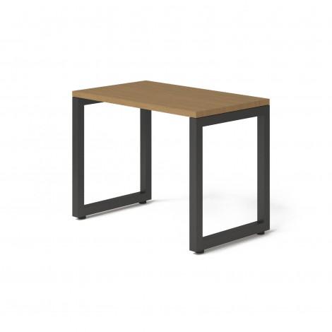 Стол Тавол КС 8.3 металл опоры черные 100смх60смх75см ДСП 32 мм Орех