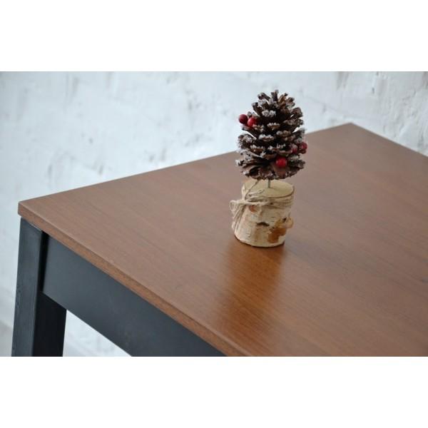 Стол Тавол Пиколо ножки натуральное дерево 90смх55смх75см Орех