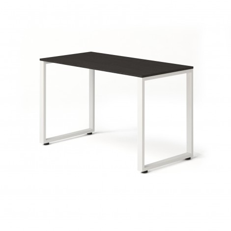 Стол Тавол Loft КС 8.1 металл опоры белые 120смх60смх75см ДСП Венге