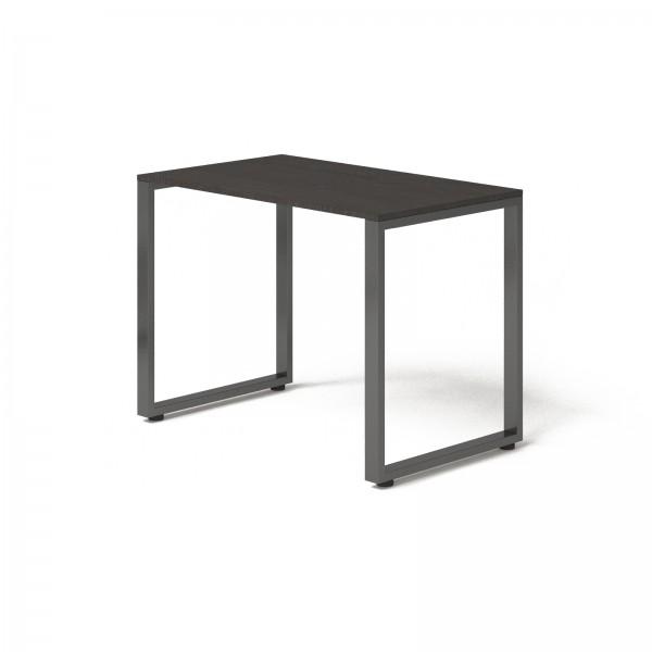 Стол Тавол Loft КС 8.1 металл опоры черные 100смх60смх75см ДСП Венге