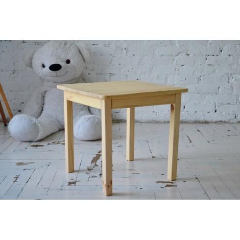 Детский столик Тавол Орса 50смх50смх45см натуральное дерево