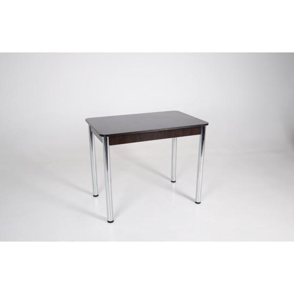 Стол Тавол Классик ноги металл хром 93 см х 60 см х 76 см Венге