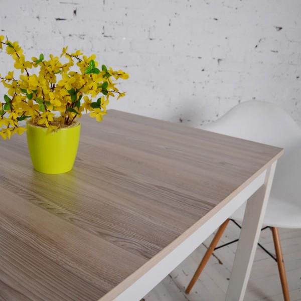 Стол Тавол Лунго 120смх70смх75см ножки натуральное дерево Ясень