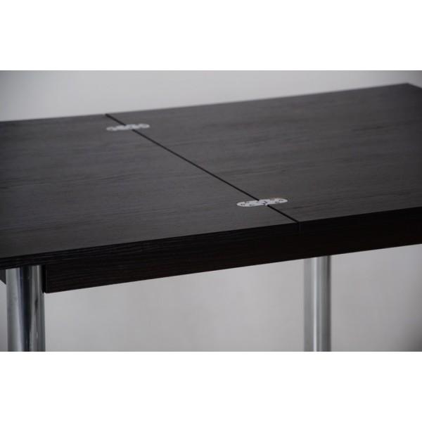 Кухонный комплект стол Тавол Ретта раскладной + 3 стула Венге