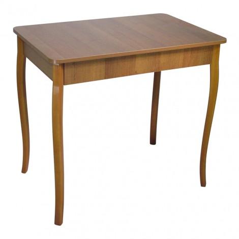 Стол Тавол Классик с фигурными деревянными ногами 93 см х 60см х 75 см Орех
