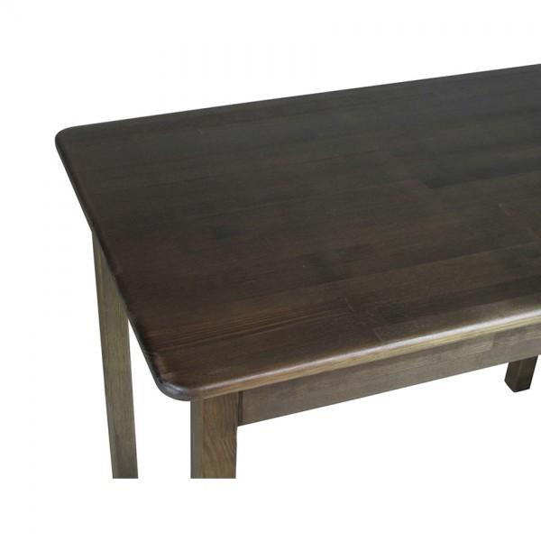 Стол из натурального дерева Тавол Легно с прямыми ногами 100смх60смх75см Тис