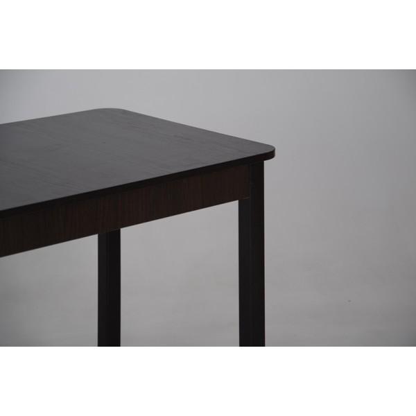 Стол Тавол Классик прямые деревянные ноги 93 см х 60 см х 76 см Венге