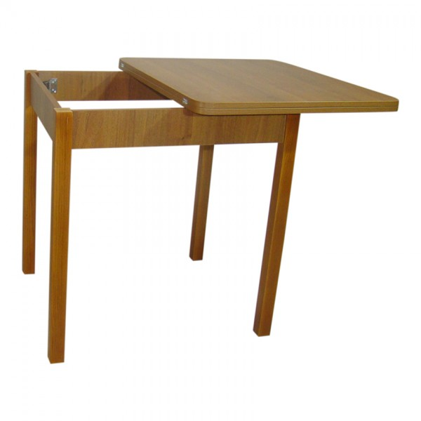 Стол обеденный раскладной Тавол Формади 65смх75смх75см ноги прямое дерево Орех