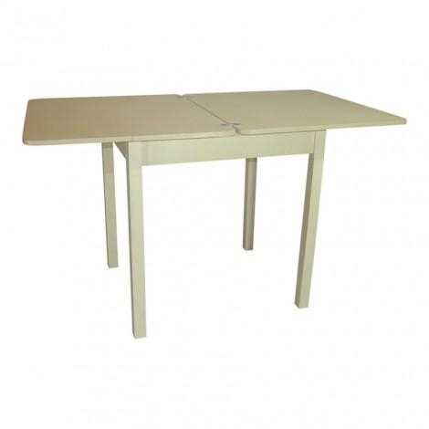 Стол обеденный раскладной Тавол Формади 65смх75смх75см ноги прямое дерево Молочный