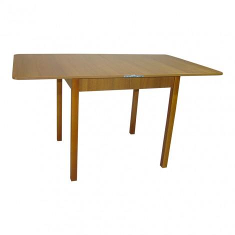 Стол обеденный раскладной Тавол Гранди 70 см х 80 см х 75 см ноги прямое дерево Орех