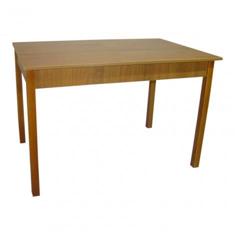 Стол обеденный раздвижной Тавол Скор 115 см х 75 см х 75 см ноги прямое дерево Орех