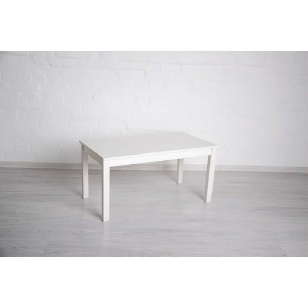 Журнальный стол Тавол Рист 90смх50смх44см с деревянными ногами Белый