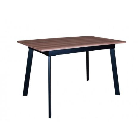 Стол обеденный Flash beige black 1200 1600 h750