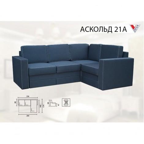 Угловой диван Аскольд 21A ВИКА