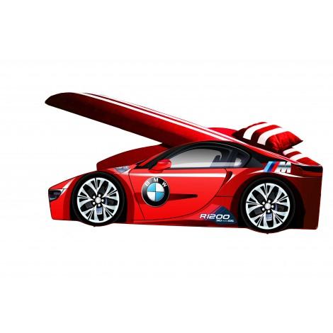 Кровать-машина детская Елит BMW E-1 с подъемным механизмом Viorina-Deko