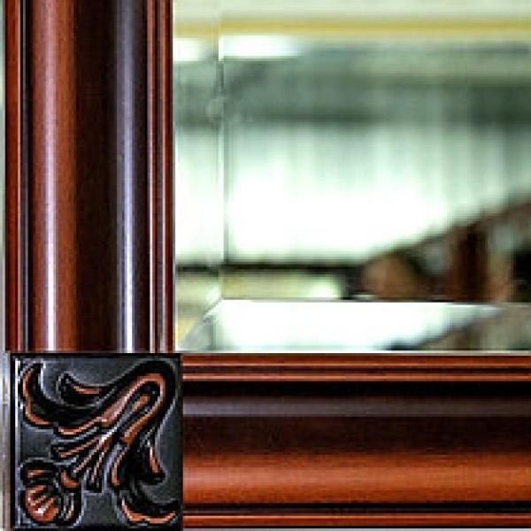 Зеркало в раме 1,09 Новита Скай