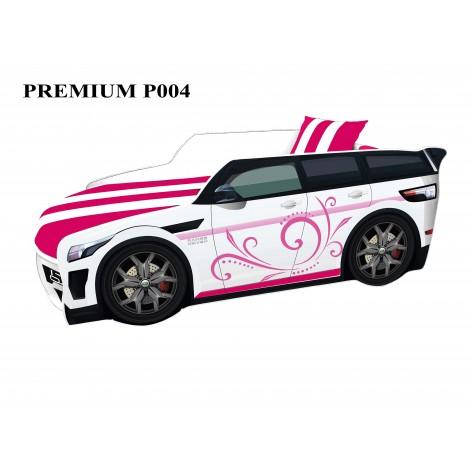 Кровать-машина детская Премиум/Premium P004 с подъемным механизмом Viorina-Deko