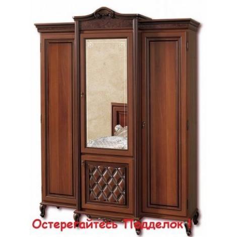 Шкаф 3-х дверный Новита Скай