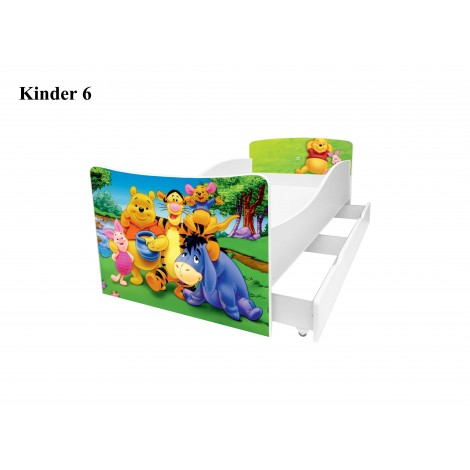 Ліжко дитяче Кіндер/Kinder 6 Viorina-Deko