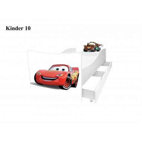 Ліжко дитяче Кіндер/Kinder 10 Viorina-Deko