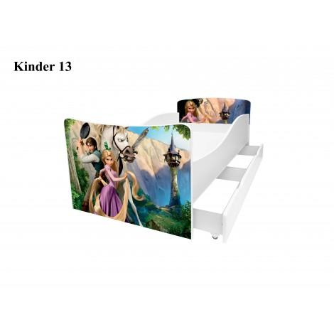 Ліжко дитяче Кіндер/Kinder 13 Viorina-Deko