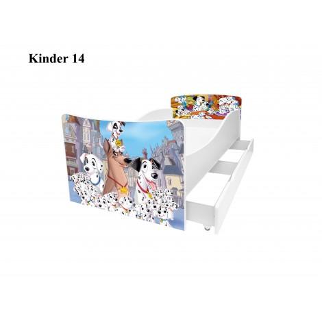 Ліжко дитяче Кіндер/Kinder 14 Viorina-Deko