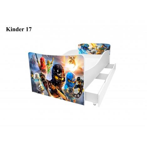 Ліжко дитяче Кіндер/Kinder 16 Viorina-Deko