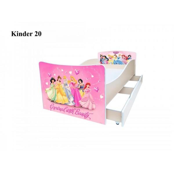 Ліжко дитяче Кіндер/Kinder 20 Viorina-Deko