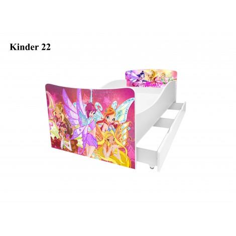 Ліжко дитяче Кіндер/Kinder 22 Viorina-Deko