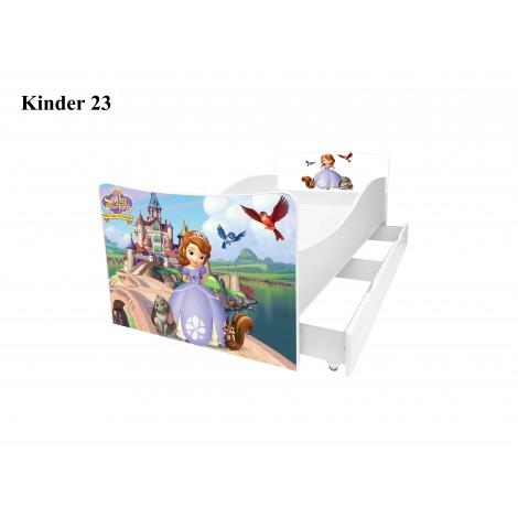 Ліжко дитяче Кіндер/Kinder 23 Viorina-Deko