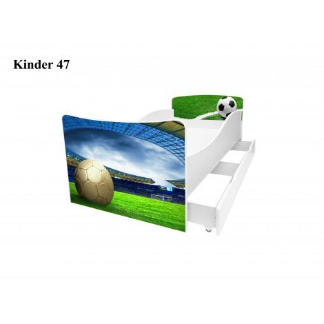 Ліжко дитяче Кіндер/Kinder 47 Viorina-Deko
