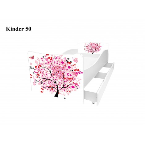 Ліжко дитяче Кіндер/Kinder 50 Viorina-Deko
