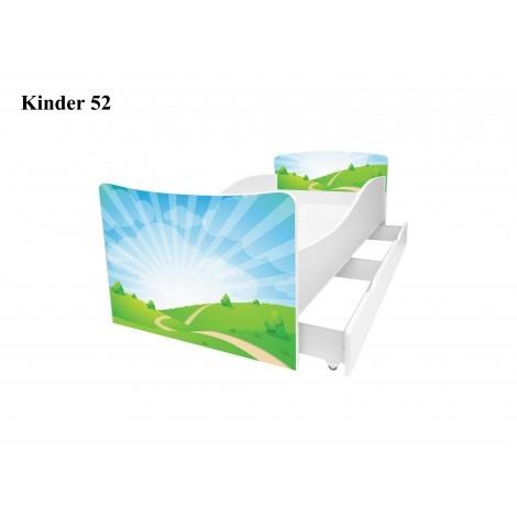 Ліжко дитяче Кіндер/Kinder 52 Viorina-Deko