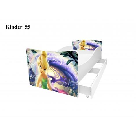 Ліжко дитяче Кіндер/Kinder 55 Viorina-Deko