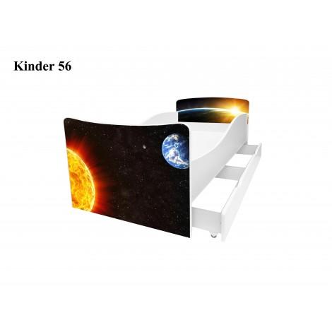 Ліжко дитяче Кіндер/Kinder 56 Viorina-Deko