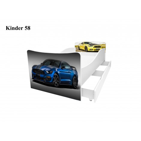 Ліжко дитяче Кіндер/Kinder 58 Viorina-Deko