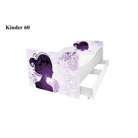 Ліжко дитяче Кіндер/Kinder 60 Viorina-Deko
