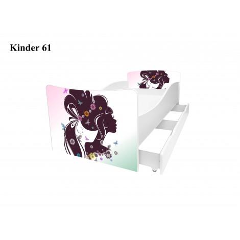 Ліжко дитяче Кіндер/Kinder 61 Viorina-Deko