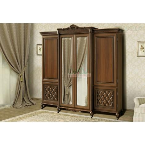 Шкаф 4-х дверный Новита Скай