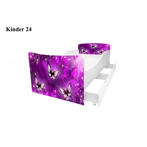 Ліжко дитяче Кіндер/Kinder 24 Viorina-Deko