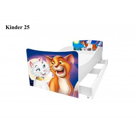 Кровать детская Киндер/Kinder 25 Viorina-Deko