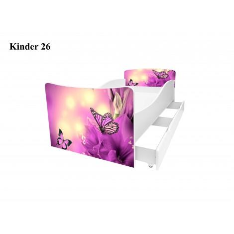 Ліжко дитяче Кіндер/Kinder 26 Viorina-Deko
