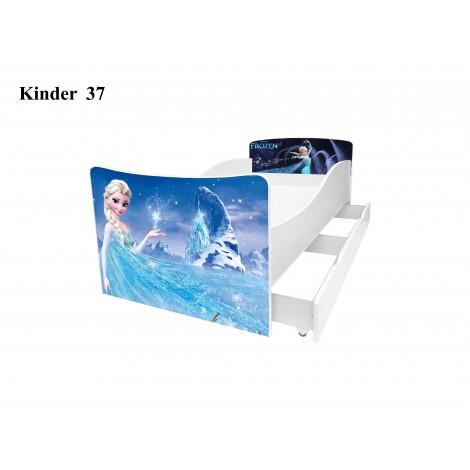 Ліжко дитяче Кіндер/Kinder 37 Viorina-Deko
